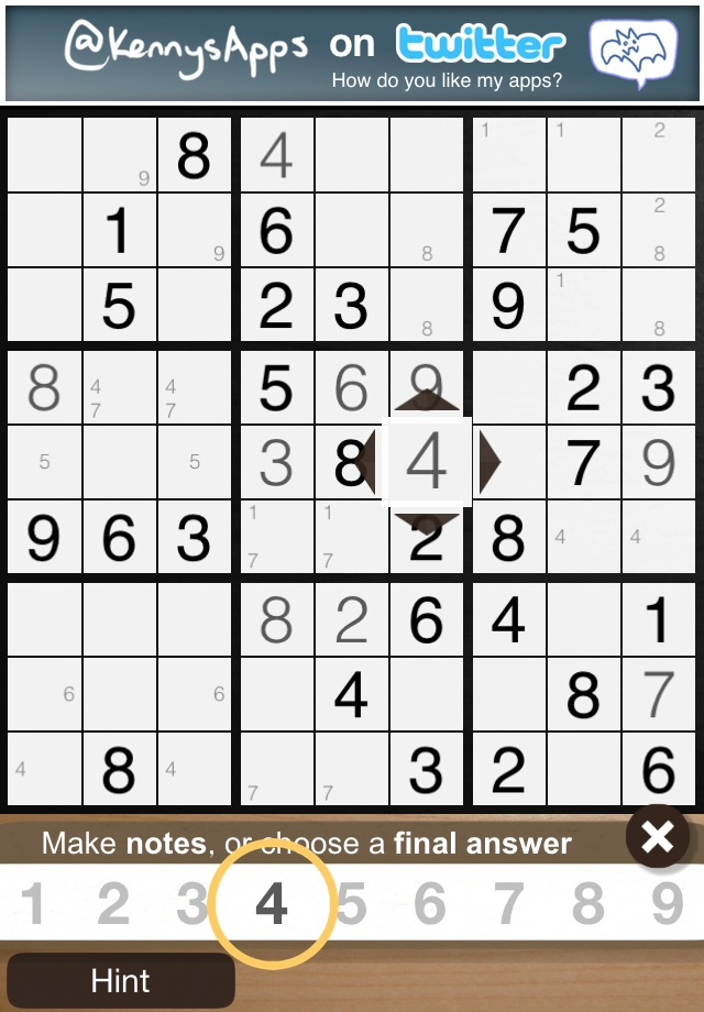 Screenshot Coffee And Sudoku